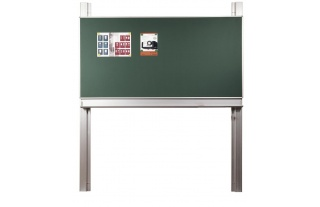 Pylónová tabuľa S42, 400x120cm,biele alebo zelené s mag.a keramickým povrchom