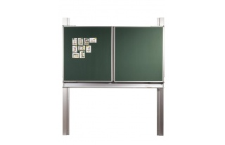Pylónová tabuľa S Triptych 31,300x100cm,biele alebo zelené s mag.a keramickým povrchom
