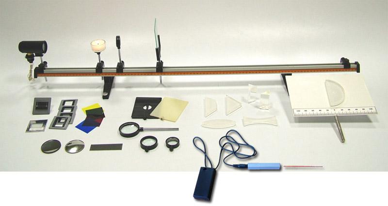 Optická lavica s laserovým zdrojom