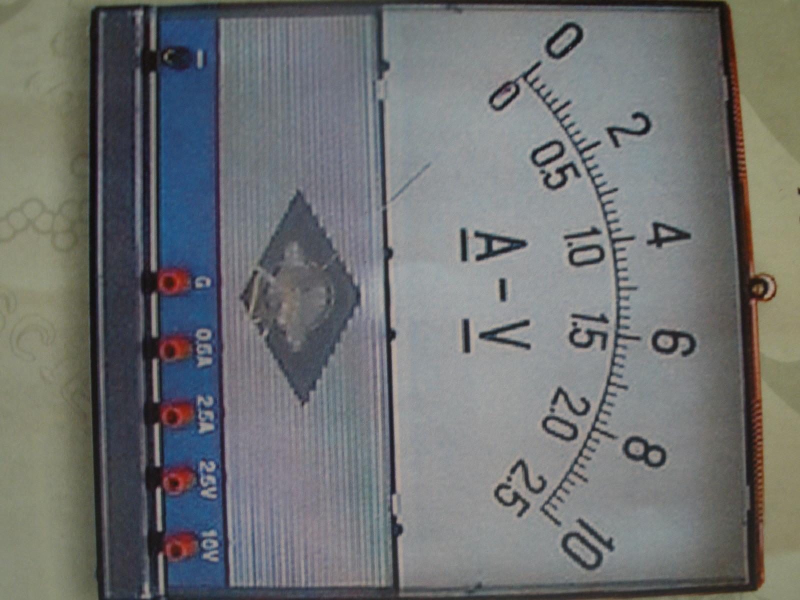 Žiacky voltampérmeter