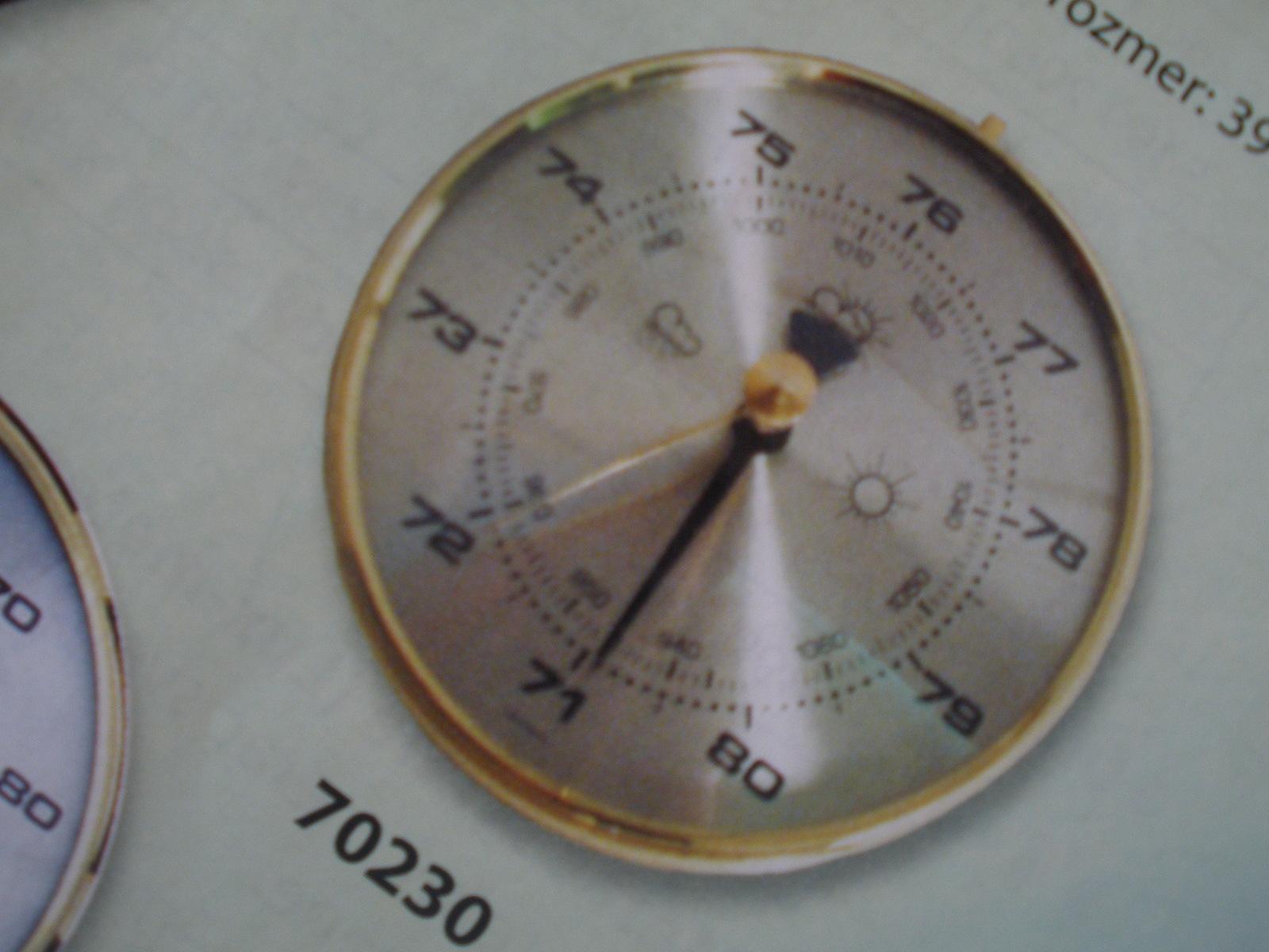 Barometer, teplomer, vlhkomer