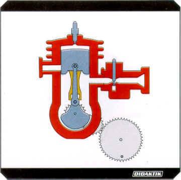 TM10 dvojdobý Ottov motor