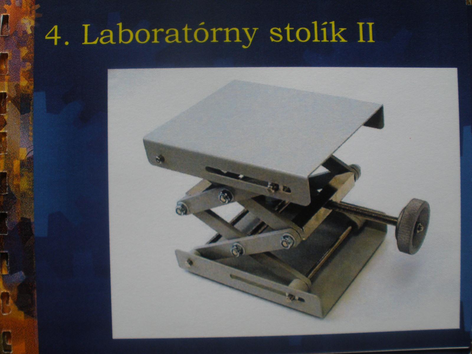 Laboratórny stolček zdvíhací
