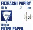 Filtračný papier výsekový KA1 , priemer 110mm/100ks