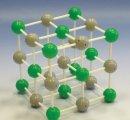 Model kryštalickej mriežky chloridu sodného