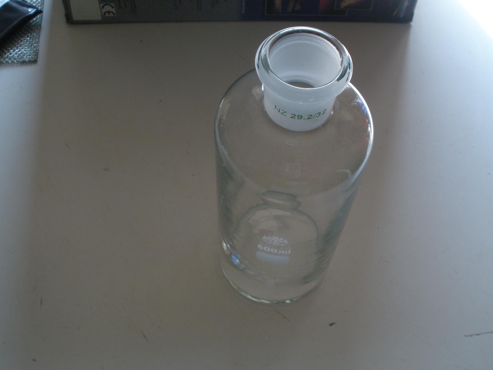 Fľaša k premývačke 500 ml